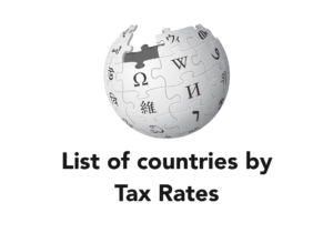 List of countries by Tax Rates